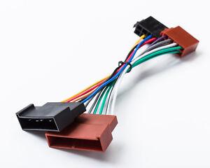 Kabel-ISO-Adapter-KFZ-Radio-passend-fuer-Fiesta-Ka-Focus-Mondeo-Galaxy-Transit
