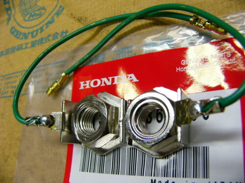 Honda CB 750 Four K0 K2 Muttern für Befestigung Blinkerstangen Bolt Set light
