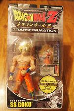Jakks Pacific 2006 Dragonball Z Transformation SS Goku figure w/ card, MOC
