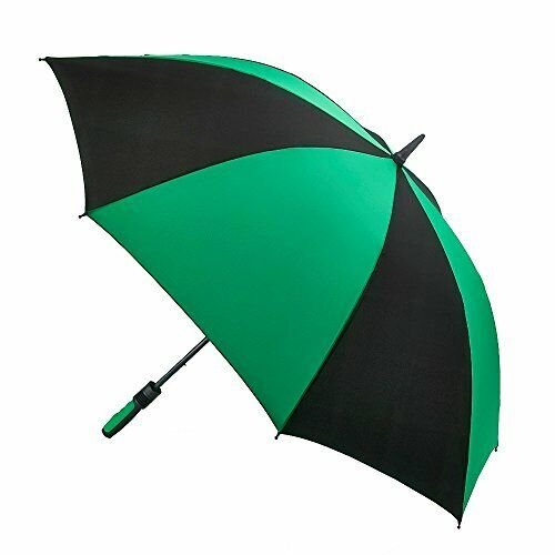 Cyclone Stick Umbrella, 100 cm, 1 L, Black/Green