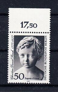 Berlin-Briefmarken-1977-Christian-Daniel-Rauch-Mi-Nr-541-postfrisch-Rand