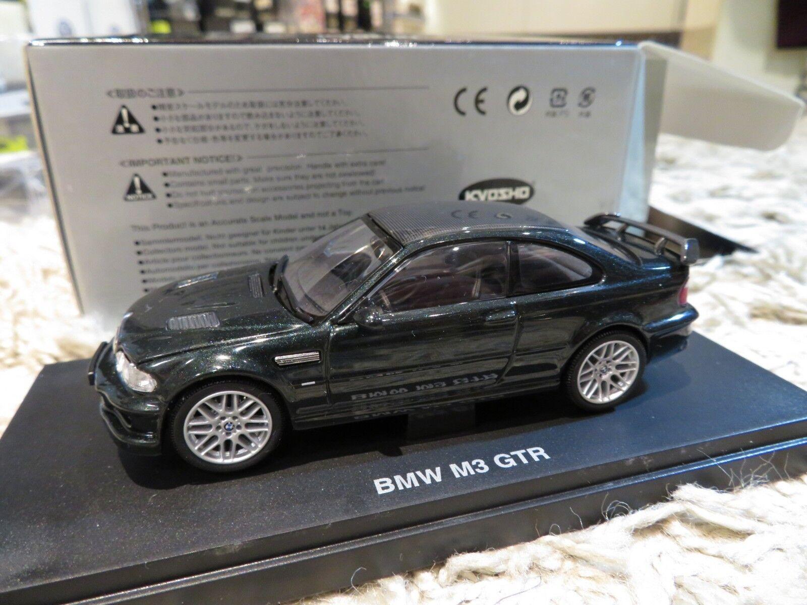1 43 Kyosho BMW M3 GTR diecast