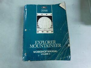1998 ford ranger service repair manual.
