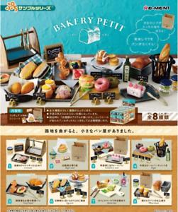 Re-Ment Petit sample series BAKERY PETIT  8 type set Japan import NEW