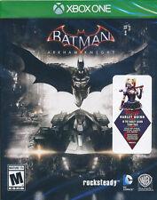 Batman Arkham Knight Xbox One Game (with Harley Quinn DLC) BRAND NEW & SEALED