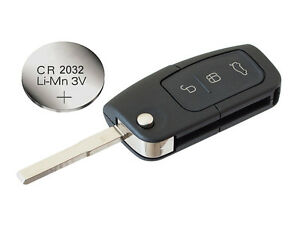 fits ford focus mondeo c max s max kuga galaxy remote key fob case battery ebay. Black Bedroom Furniture Sets. Home Design Ideas