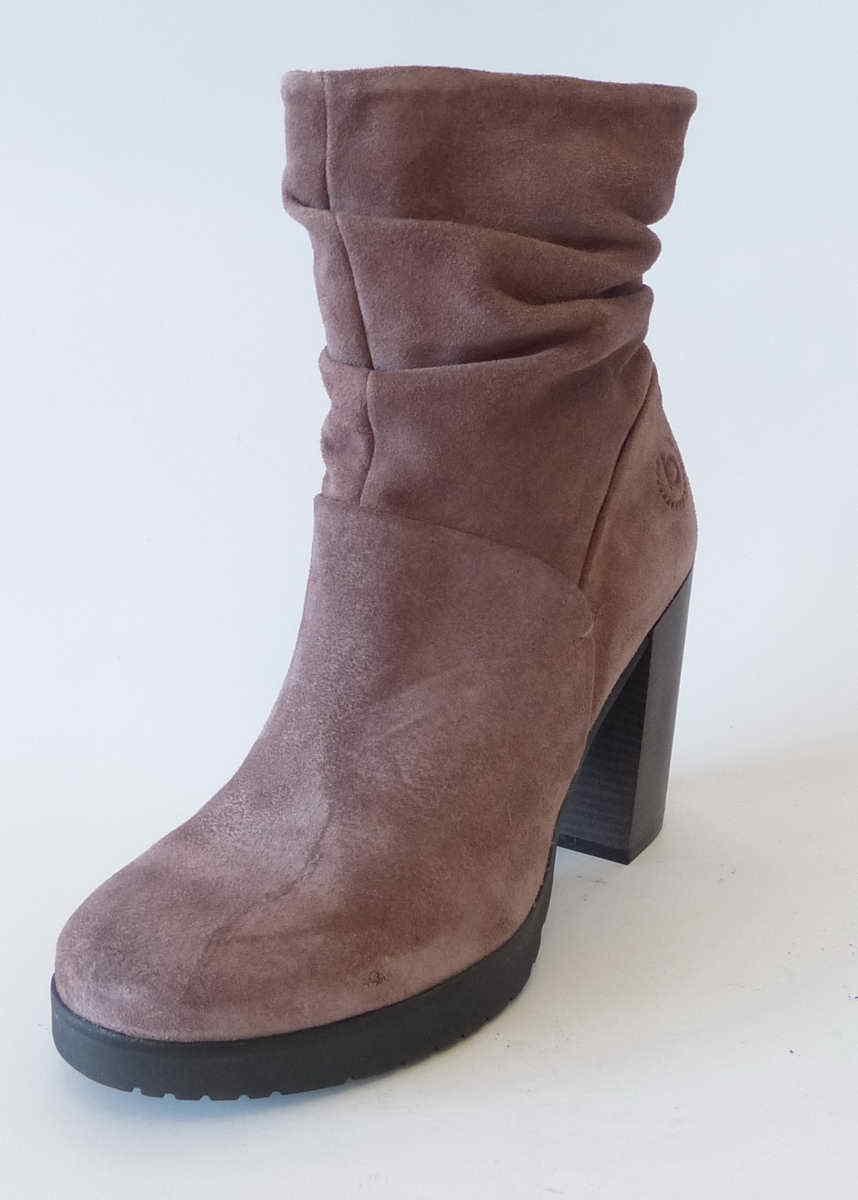 Buigatti Buigatti Buigatti mujer botín alesa rosado nobuck cuero rosadodo botas 411559301400 3400  entrega gratis