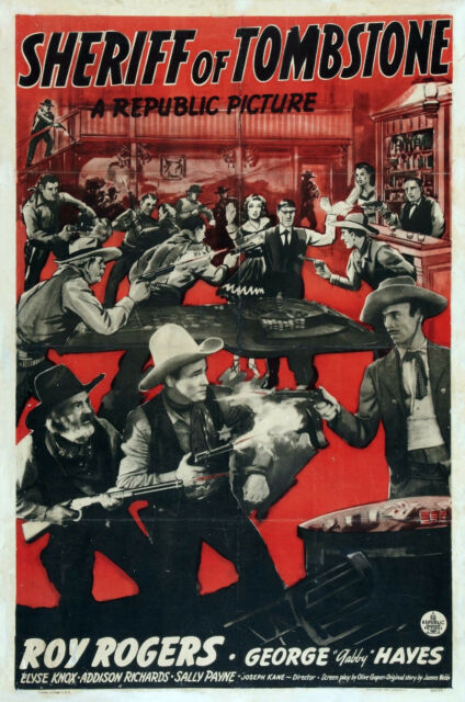 SHERIFF OF TOMBSTONE 1941 Western Comedy Movie Film PC iPhone INSTANT WATCH