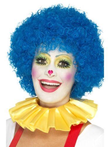 Einheitsgröße Unisex Clown Kragen Gelb