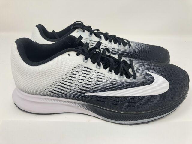 brand new 62ba4 9a1b6 Nike Air Zoom Elite 9 IX Black White Mens Shoes Running Shoe ...
