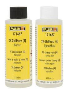 Faller-171667-2K-Giessharz-fuer-Modellbahnreplikate-fuer-alle-Spurweiten