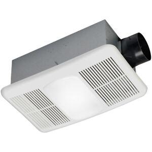 Utilitech Heater 80 Cfm White Bathroom Fan Model 7123 02