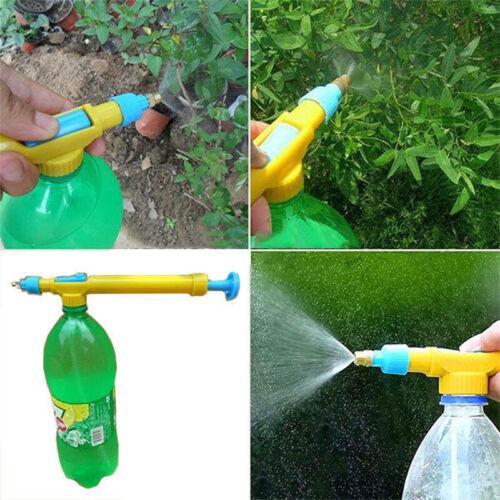 Garden Convenient Mini Juice Bottles Interface Water Pressure Pump Sprayer Head