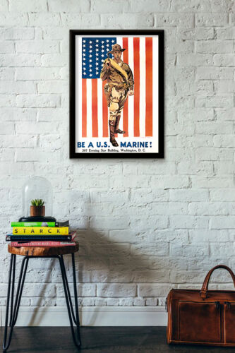 WWII US Military US Marine Corps Posters US Army WW2 American Marines Navy