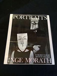 Arthur-Miller-Inge-Morath-Portaits-Rare-Signed-Autograph-1st-Edition-HB-Book