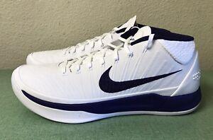 Nike Kobe Ad Lakers Pe White Purple Mens Sz 14 Basketball Shoes Unreleased New Ebay
