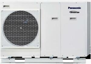 panasonic aquarea wh mdc05h3e5 monoblock w rmepumpe 5 kw ebay. Black Bedroom Furniture Sets. Home Design Ideas