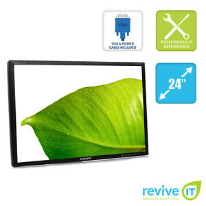 Samsung-SyncMaster-2443BWT-24-034-Widescreen-1920x1200-TFT-LCD-Monitor-ONLY-Grade-B
