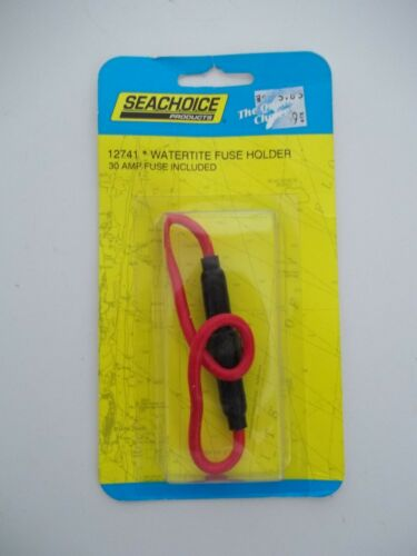 Sea Choice Brand Heavy Duty Watertite 30 Amp Inline Fuse Holder #12741
