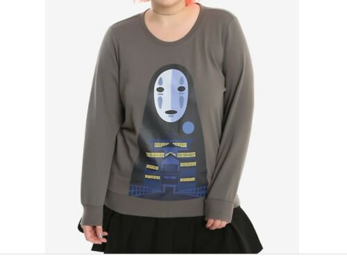 spirited away Sweater  Color Gray Size XL
