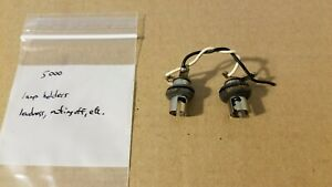 Sansui 5000 receiver lamp holders - loudness, muting off, etc.