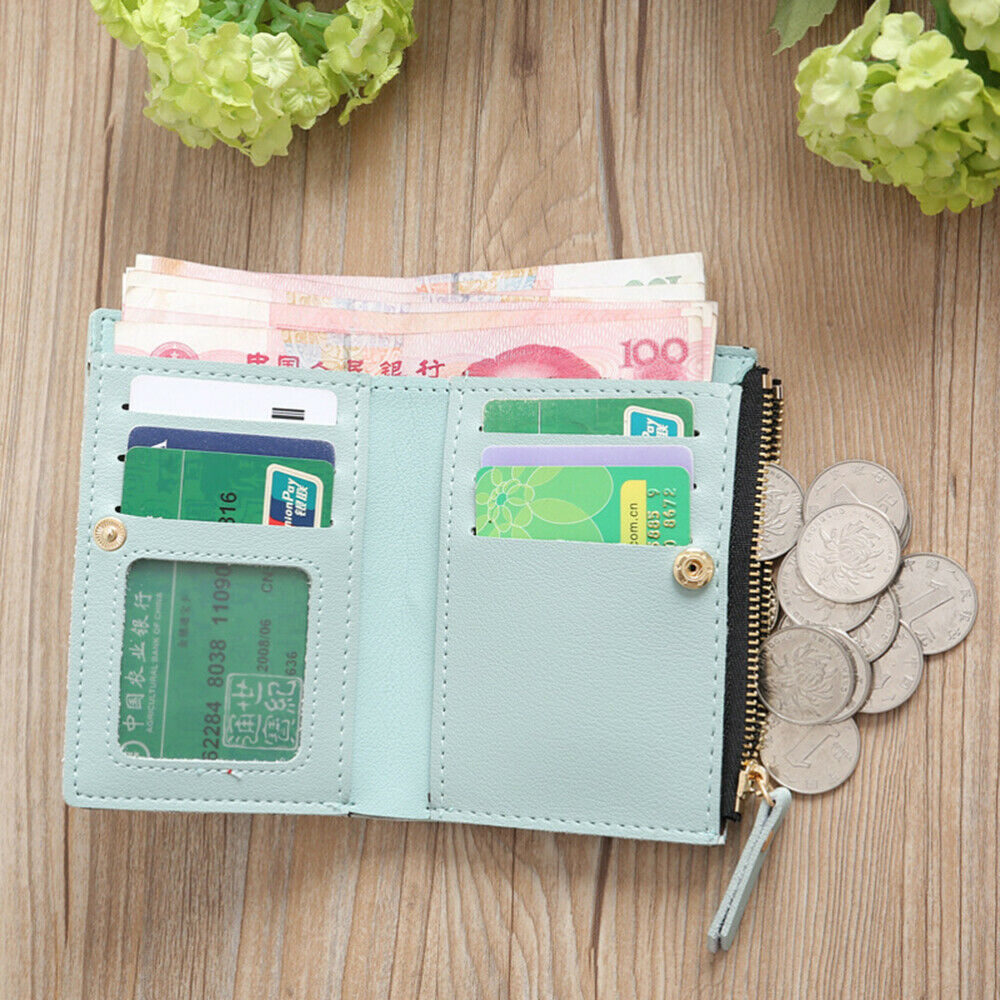 Lady Woman Girl for Wallet Durable Embroidery PU Leather 1Pc Wallet