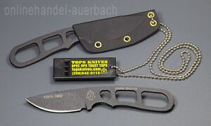 TOPS-KNIVES-TIBO-NECK-KNIFE-Messer-Outdoor
