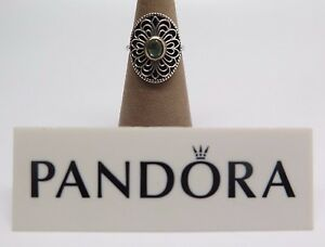 5ad6442b0 Image is loading New-w-Hinged-Box-Pandora-Vintage-Allure-Green-