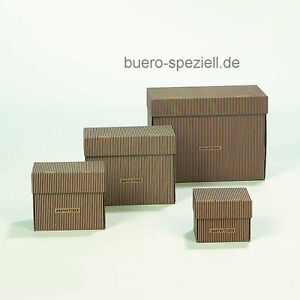 Karton Design | 5 Karteikasten A5 Papiertiger Faltbar Design Sw Br Karton Fur 300