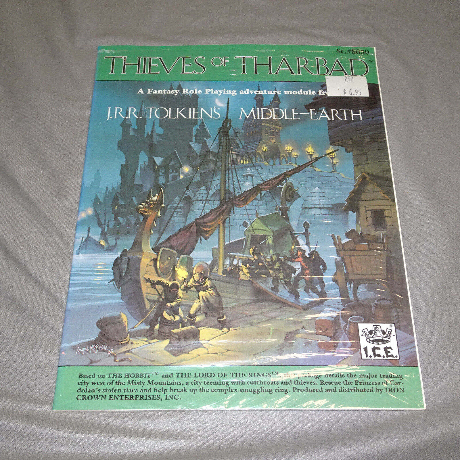 THIEVES OF THARBAD  MIDDLE-EARTH  8050  I.C.E. - 1985