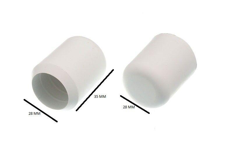 Fauteuil Mobilier Virole Predection Du Sol white 2.2cm 22mm Di Emballage de 100