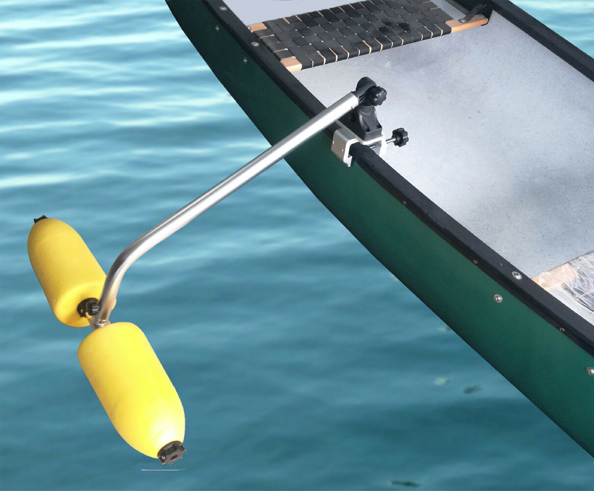 Brocraft Canoe Outriggers   Canoe Stabilizers System