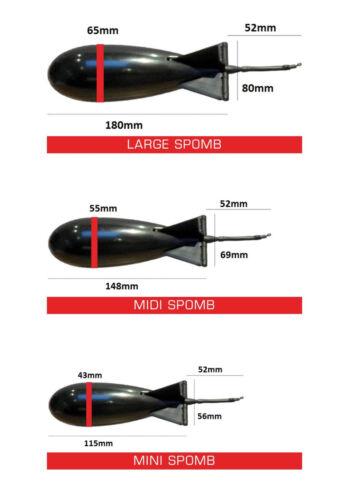 Fox Spomb Black Futterrakete Bait Rocket Baitrocket