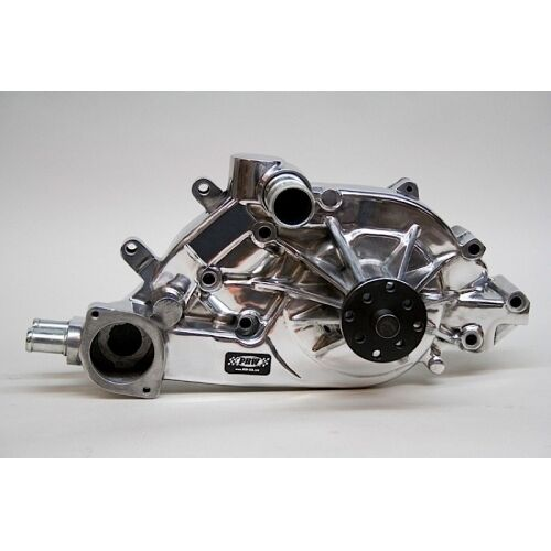 PRW 1434610 Performance Quotient High Flow Aluminum Water Pump Polished Finish