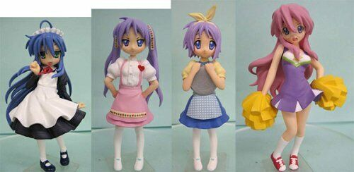 Details about  /Bandai Figure Meister Lucky Star Collection Figure Random 1box Import Japan