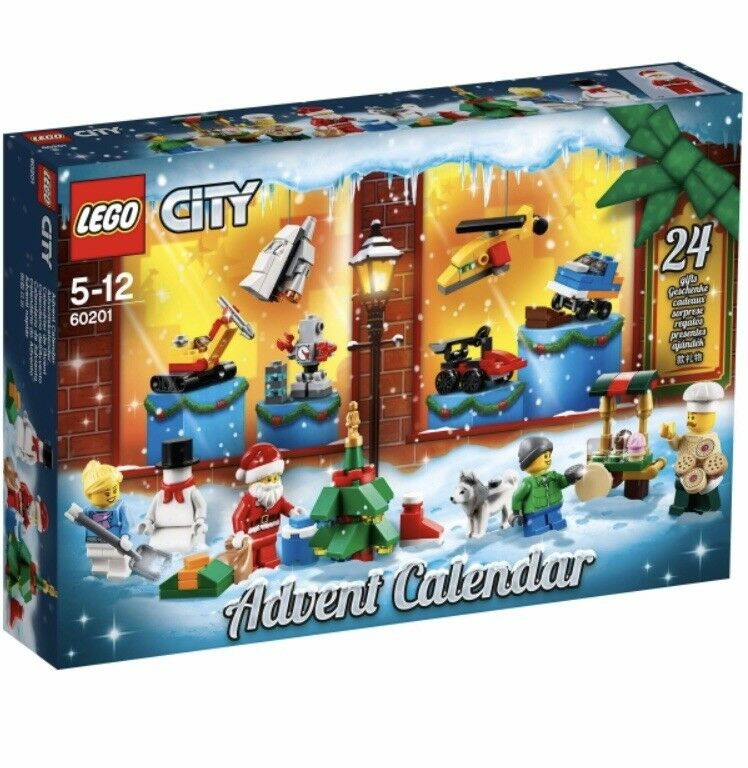 Lego City Advent Calendar 2018 - 60201 - NEW - FREE DELIVERY