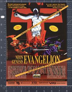 NEON-GENESIS-EVANGELION-Original-1997-Trade-Print-AD-advert-TV-series-promo