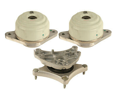 For Mercedes W221 S450 Pair Set of Front Side Engine Motor Mounts Corteco