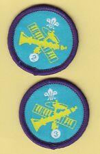 Boy Scout/Explorer Badges MUSICIAN Stage 2+3 Proficiency