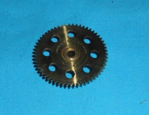 meccano laiton roue 57 dents, No27a FEA