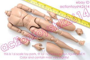 1-6-scale-Hot-Action-Figure-Caucasian-Narrow-Shoulder-Ver-TTM18-Nude-Body-toys