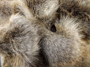 Faux-fur-Fabric-Feathered-Brown-60mm-Pile-Mohair-bears-Artist-Bear-OOAK