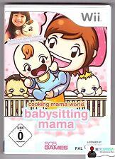 ★ Nintendo Wii Spiel - COOKING MAMA WORLD BABYSITTING MAMA - Komplett in OVP ★