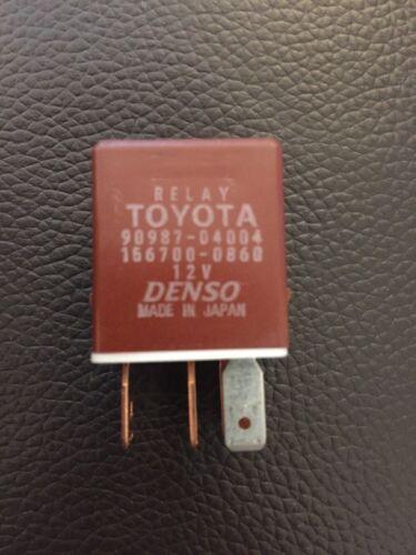 Toyota Lexus Brown Relay Denso 90987-04004 156700-0860 Celica mr2 gen7