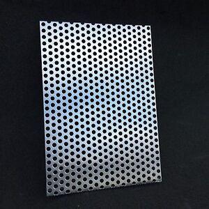 g nstige lochblech alu rv5 8 lochplatte abdeckung 1 0mm individuel nach ma ebay. Black Bedroom Furniture Sets. Home Design Ideas