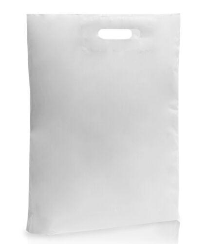 Weiß Plastik Beutel Butik Einzelhandel Geschenk Shop Tragetasche