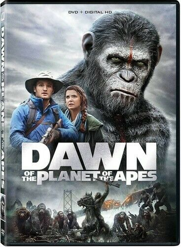 Dawn of the Planet of the Apes DVD NEW