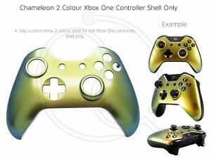 Details about New Xbox One Controller Front Shell Colour Change gold green  Unique custom mod