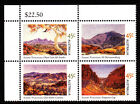 2002 Birth Centenary Albert Namatjira - MUH Top Left Corner Block of 4