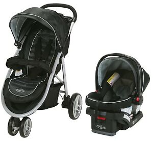 Image Is Loading Graco Baby Aire3 Travel System Stroller With SnugLock